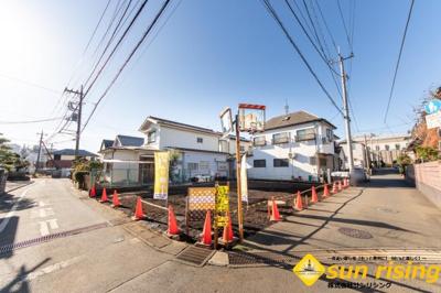 【外観】武蔵村山市学園3丁目 売地