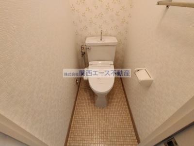 【トイレ】朝日プラザ生駒西1番館A棟