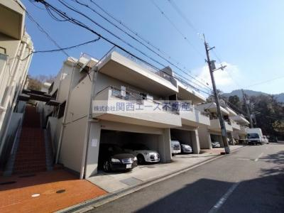【外観】朝日プラザ生駒西1番館A棟