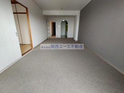 【居間・リビング】朝日プラザ生駒西1番館A棟