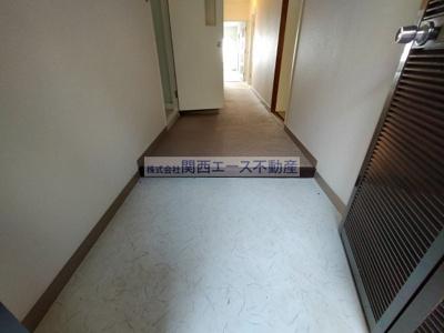【玄関】朝日プラザ生駒西1番館A棟