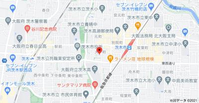 【地図】メゾン・ド・蔵 大手町