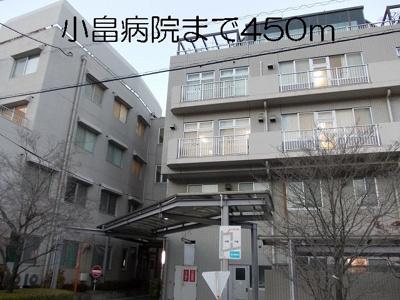 小畠病院まで450m