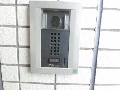 モニター付きインターホンです