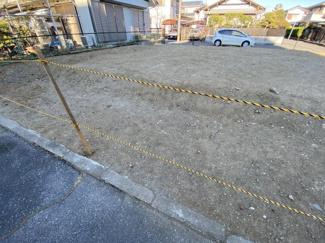 千葉市美浜区真砂 土地 検見川浜駅 平坦なお土地ですので、外溝費用が節約できます。