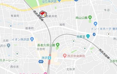 【地図】レオパレスシャルムⅡ(29304-203)