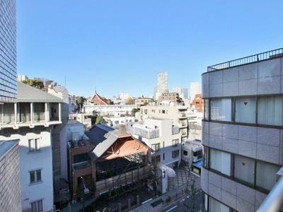 6階部分のお部屋からは都心の街並みを一望できます。