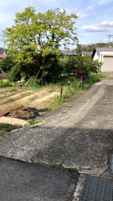 【前面道路含む現地写真】【売地】第三中学校区・56643