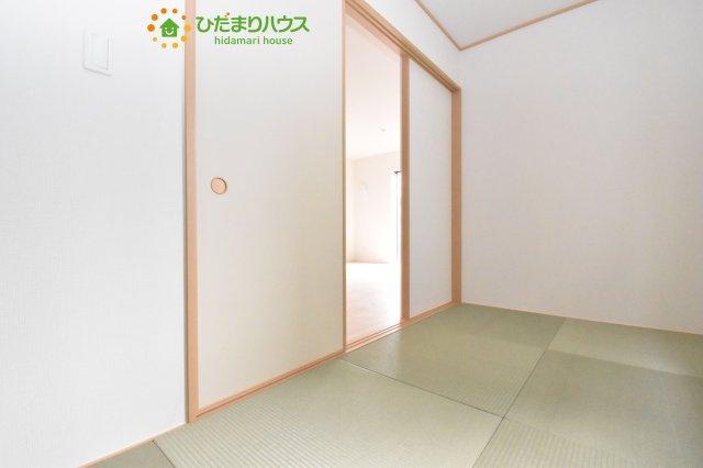 【和室】見沼区中川 第19 新築一戸建て クレイドルガーデン 02