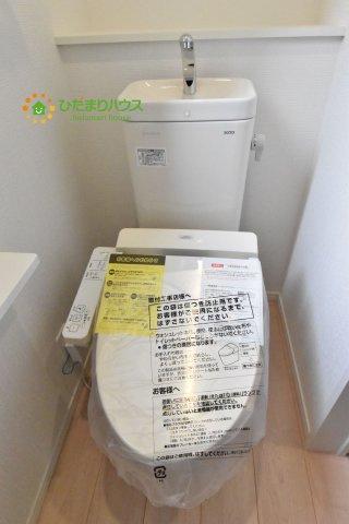 【トイレ】見沼区中川 第19 新築一戸建て クレイドルガーデン 02