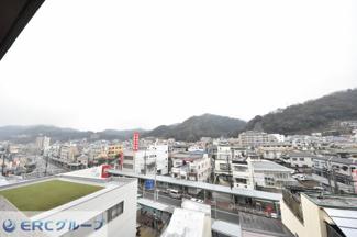 神戸山景を望めます