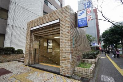 地下鉄空港線「赤坂」駅 (約80m)