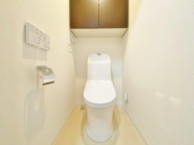 トイレ新規交換済み 水回りはすべて新規交換してあり気持ちよくお使いいただけます