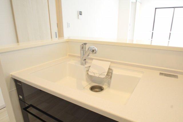 浄水器付きキッチン水洗