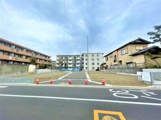 全6宅地の開発分譲地です。