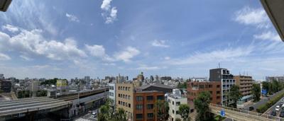 6階部分のお部屋からは、晴れた日に富士山が望めます。