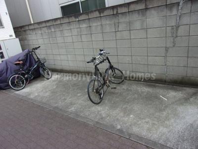 グランコンフォール東墨田の駐輪スペース☆