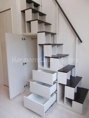 ハーモニーテラス泉町の収納付き階段(別部屋参考写真)☆