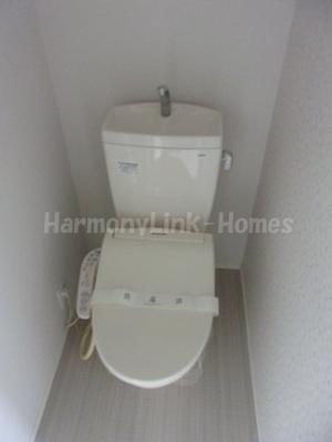 Sonny House要町の落ち着いた色調のトイレです☆