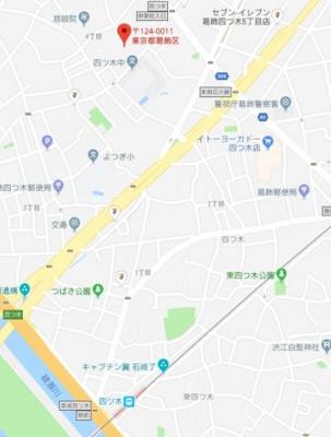 【地図】ノマド四つ木