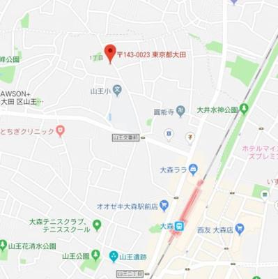 【地図】ラビットハッチスリー