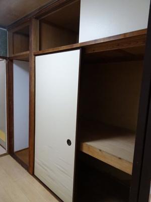 コーポ加藤 収納スペースはたっぷり入ります