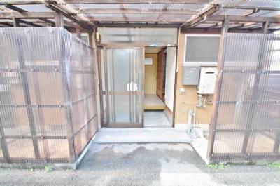 【エントランス】大堀5丁目貸家