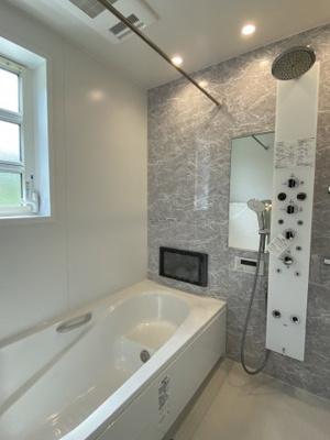 浴室TV付のユニットバス