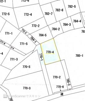 【土地図】湯川新町2丁目土地