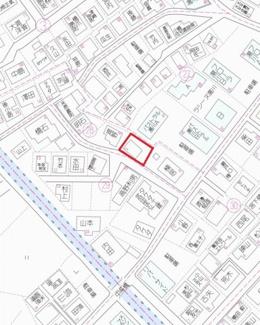 【地図】湯川新町2丁目土地