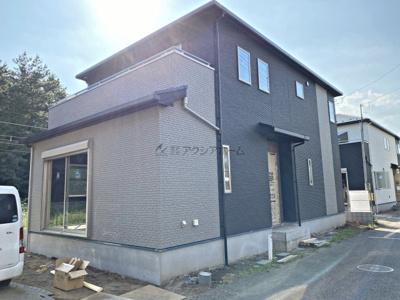 【外観】狭山市富士見2丁目・全2棟 新築一戸建 B号棟 〜収納充実〜