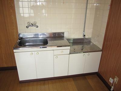 【キッチン】儀間アパートA棟