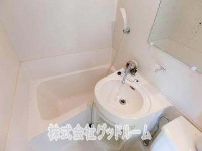 【浴室】コーポ嶺