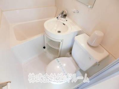 【トイレ】コーポ嶺