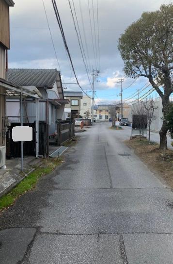 【前面道路含む現地写真】介良乙