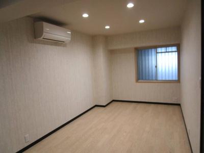 8.5帖寝室 エアコン設置