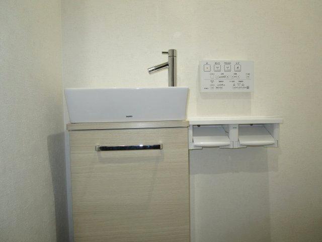 手洗い収納