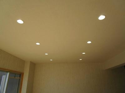 全室LEDダウンライト