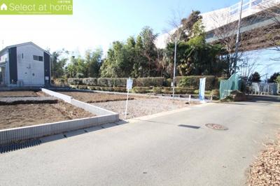 【前面道路含む現地写真】海老名市社家 新築戸建て 全3棟【仲介手数料無料】