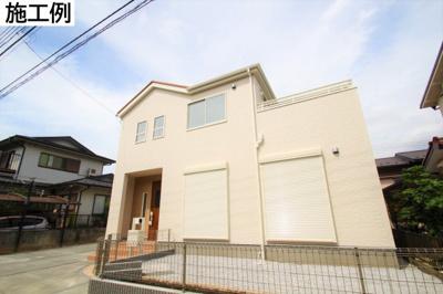 【外観:施工例】海老名市社家 新築戸建て 全3棟【仲介手数料無料】