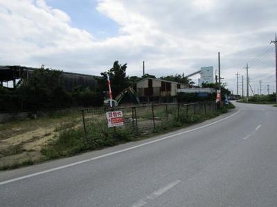 【外観】中城村字添石資材置き場・駐車場