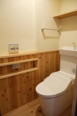 【トイレ】勝間田町 リノベーション住宅 2DK