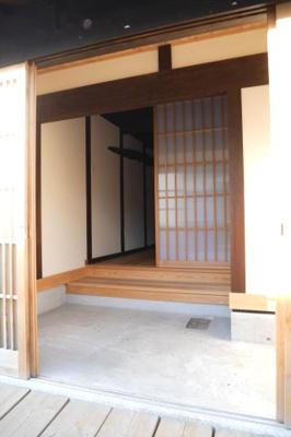 【玄関】勝間田町 リノベーション住宅 2DK
