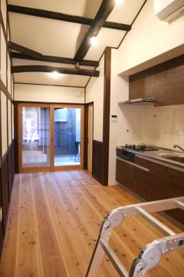【キッチン】勝間田町 リノベーション住宅 2DK