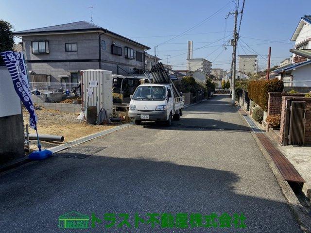 【前面道路含む現地写真】神戸市垂水区学が丘第5-1号棟 新築戸建