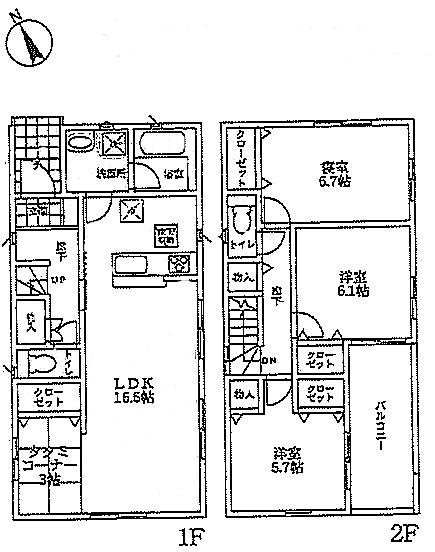神戸市垂水区学が丘第5-1号棟 新築戸建