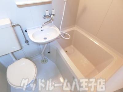 【浴室】コーポ二葉2号A