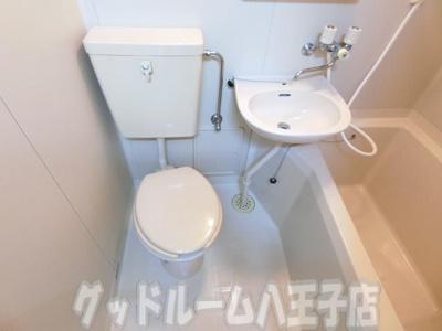 【トイレ】コーポ二葉2号A