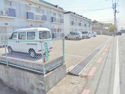 【駐車場】あけぼのセントラルコーポ B