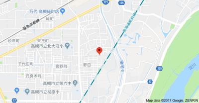 【地図】グレースハイムA棟 (株)Roots